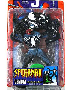 TOYBIZ SPIDER-MAN CLASSICS 4 VENOM WITH ALIEN OOZE BASE!