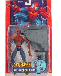 TOYBIZ SPIDER-MAN CLASSICS SERIES 7 FLIP'N ZIP SPIDER-MAN ブリスター傷み特価