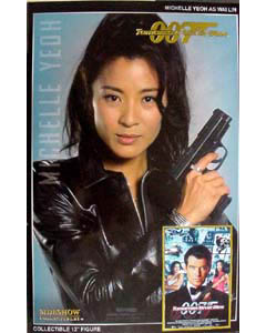 SIDESHOW 12インチ 007 SIDESHOW.COM限定500個 TOMMORROW NEVER DIES WAI LIN : MICHELLE YEOH