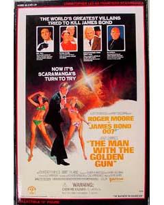 SIDESHOW 12インチ 007 THE MAN WITH GOLDEN GUN 黄金銃を持つ男 SCARAMANGA : CHRISTOPHER LEE