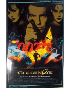 SIDESHOW 12インチ 007 GOLDENEYE ゴールデンアイ BOND : PIERCE BROSNAN