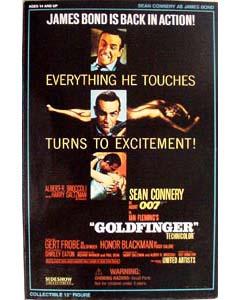 SIDESHOW 12インチ 007 GOLDFINGER ゴールドフィンガー BOND : SEAN CONNERY