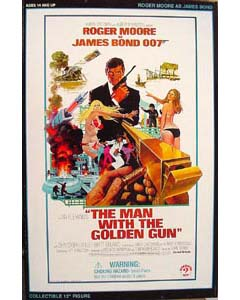 SIDESHOW 12インチ 007 THE MAN WITH GOLDEN GUN 黄金銃を持つ男 BOND : ROGER MOORE