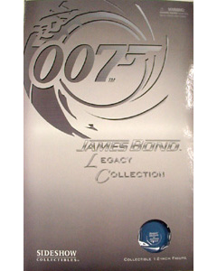 SIDESHOW 12インチ 007 LEGACY COLLECTION BOND : ROGER MOORE