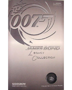SIDESHOW 12インチ LEGACY COLLECTION BOND : SEAN CONNERY