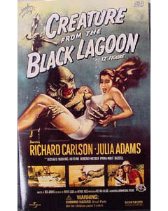 SIDESHOW 12インチ CREATURE FROM THE BLACK LAGOON CREATURE 箱傷み特価