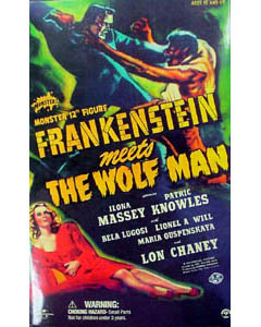 SIDESHOW 12インチ FRANKENSTEIN MEETS THE WOLF MAN THE MONSTER : BELA LUGOSI