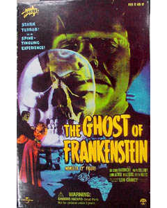 SIDESHOW 12インチ THE GHOST OF FRANKENSTEIN THE MONSTER : LON CHANEY Jr