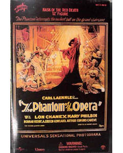 SIDESHOW 12インチ THE PHANTOM OF THE OPERA MASK OF THE RED DEATH : LON CHANEY パッケージ傷み特価