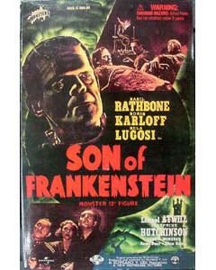 SIDESHOW 12インチ SON OF FRANKENTEIN THE MONSTER : BORIS KARLOFF