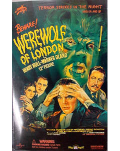 SIDESHOW 12インチ WEREWOLF OF LONDON WEREWOLF