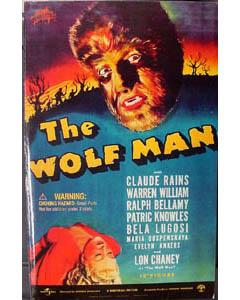 SIDESHOW 12インチ THE WOLF MAN WOLF MAN 訳あり特価