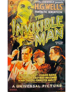 SIDESHOW 12インチ THE INVISIBLE MAN