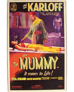 SIDESHOW 12インチ THE MUMMY ARDETH BEY : BORIS KARLOFF