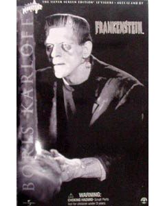 SIDESHOW 12インチ FRANKENSTEIN SILVER SCREEN EDITION THE MONSTER : BORIS KARLOFF