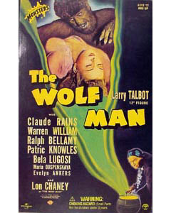SIDESHOW 12インチ THE WOLF MAN LARRY TALBOT