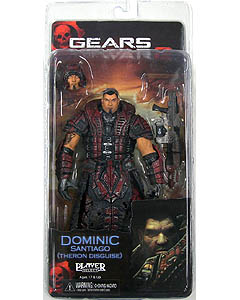 NECA GEARS OF WAR SERIES 4 DOMINIC SANTIAGO [THERON DISGUISE]