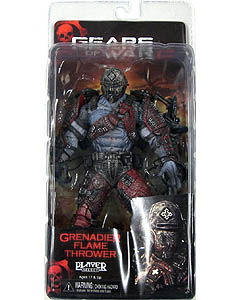 NECA GEARS OF WAR SERIES 4 GRENADIER FLAME THROWER