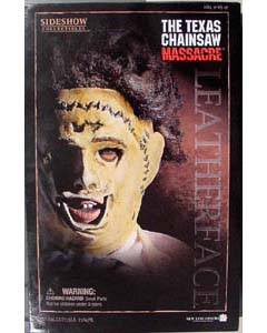 SIDESHOW 12インチ THE TEXAS CHAINSAW MASSACRE LEATHERFACE