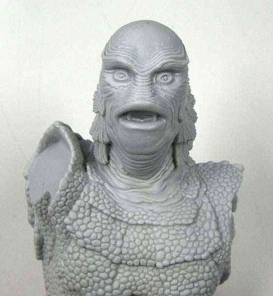 絶版商品 ホライゾン 半魚人 1/6フィギュアサイズ ソフビキット (キットは未塗装です。ベースなし。)
