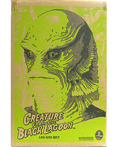 SIDESHOW LIFE SIZE BUST CREATURE FROM THE BLACK LAGOON THE GILLMAN