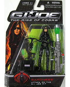 HASBRO 映画版 G.I.JOE : THE RISE OF COBRA シングル BARONESS [ATTACK ON THE G.I.JOE PIT]