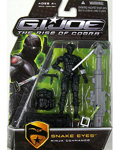 HASBRO 映画版 G.I.JOE : THE RISE OF COBRA シングル SNAKE EYES [NINJA COMMANDO]