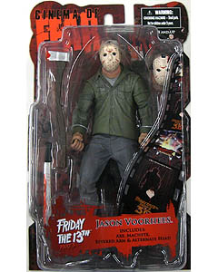 MEZCO CINEMA OF FEAR SERIES 4 FRIDAY THE 13TH PART 3 JASON VOORHEES
