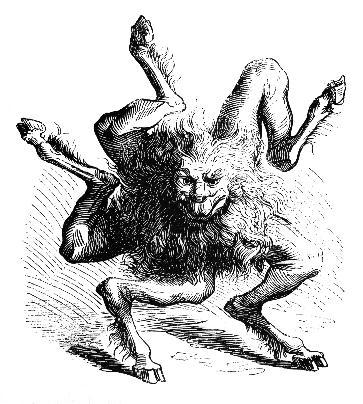 BUER 悪魔像 コールドキャスト ミニスタチュー