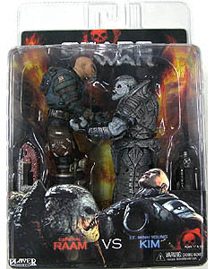 NECA GEARS OF WAR 2PACK LT.MINH YOUNG KIM VS GENERAL RAAM