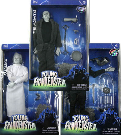 SIDESHOW 12インチ YOUNG FRANKENSTEIN THE MONSTER、FREDERICK、IGOR 3種セット