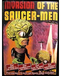 ULTRATUMBA INVASION OF THE SAUCER-MAN SAUCER-MAN スタチュー