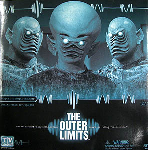 SIDESHOW 12インチ THE OUTER LIMITS [KEEPER OF THE PURPLE TWILIGHT] IKAR & IKAR'S SOLDIER 開封済み未使用品特価