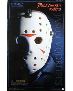SIDESHOW 12インチ FRIDAY THE 13TH PART 3 JASON 開封済み中古完品特価