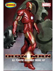 メビウスモデル 1/8スケール アイアンマン 組み立て式プラモデル クリアーレッド成型