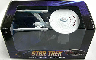 MATTEL HOT WHEELS STAR TREK 1/50スケール U.S.S. ENTERPRISE NCC-1701 REFIT