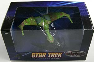 MATTEL HOT WHEELS STAR TREK 1/50スケール KLINGON BIRD OF PREY