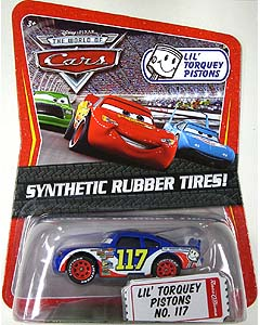 THE WORLD OF CARS K-MART限定 SYNTHETIC RUBBER TIRES! LIL' TORQUEY PISTONS NO.117