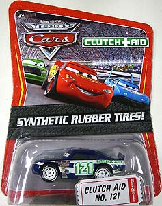 THE WORLD OF CARS K-MART限定 SYNTHETIC RUBBER TIRES! CLUTCH AID NO.121