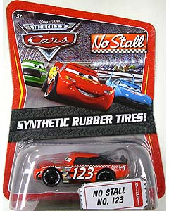 THE WORLD OF CARS K-MART限定 SYNTHETIC RUBBER TIRES! NO STALL NO.123