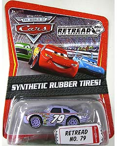 THE WORLD OF CARS K-MART限定 SYNTHETIC RUBBER TIRES! RETREAD NO.79