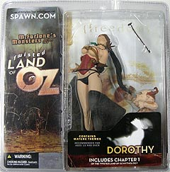 McFARLANE TWISTED LAND OF OZ DOROTHY (ストールなし)
