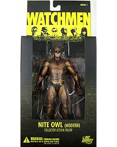 DC DIRECT WATCHMEN SERIES 1 NITE OWL (MODERN)
