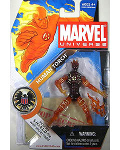 HASBRO MARVEL UNIVERSE SERIES 1 #007 HUMAN TORCH