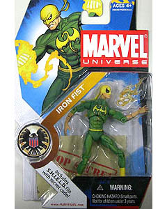 HASBRO MARVEL UNIVERSE SERIES 1 #017 IRON FIST 台紙傷み特価