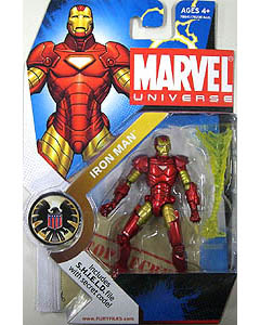 HASBRO MARVEL UNIVERSE SERIES 1 #001 IRON MAN 台紙傷み特価