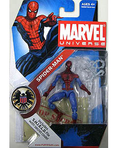 HASBRO MARVEL UNIVERSE SERIES 1 #002 SPIDER MAN