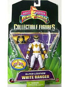 POWER RANGERS SUPER LEGENDS WHITE RANGER