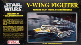 FINE MOLDS STAR WARS Y-WING FIGHTER プラモデル 1/72スケール