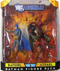 MATTEL DC UNIVERSE 2PACK BATGIRL & AZRAEL